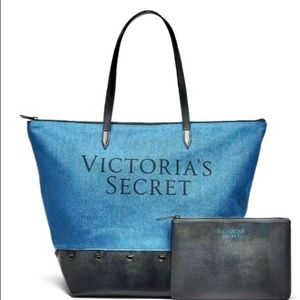 New Victoria Secret Weekender Tote and clutch